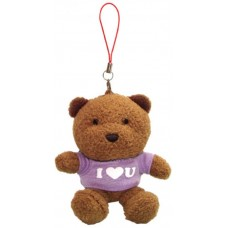 I Love You Teddy Bear (Purple)